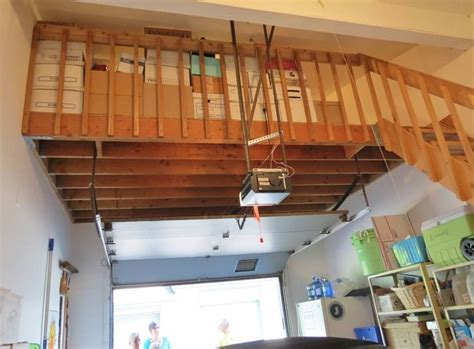 how to build a garage loft 34 best garage attic images on pinterest workshop house