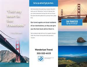 Template For Travel Brochure by Doc 14401112 Travel Brochure Free Travel Brochure