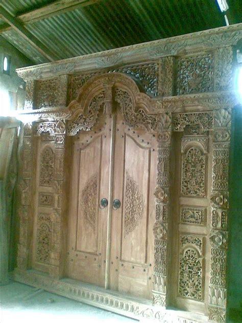 Gapura 15meter jual gebyok gapura pintu jati 3 meter furniture mebel jati khas jepara