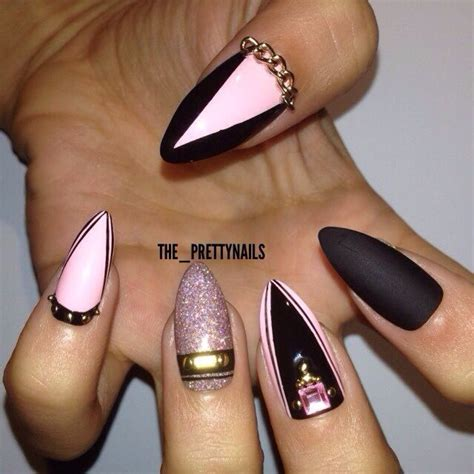 black matte nail designs 52 cool black nail designs for trendy