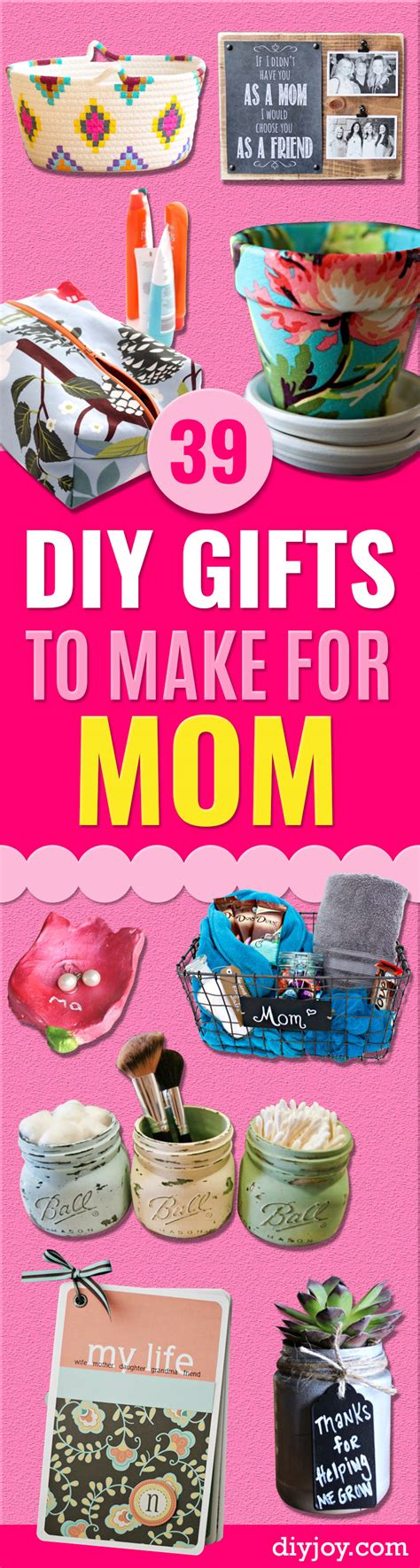 39 creative diy gifts to make for mom diy joy