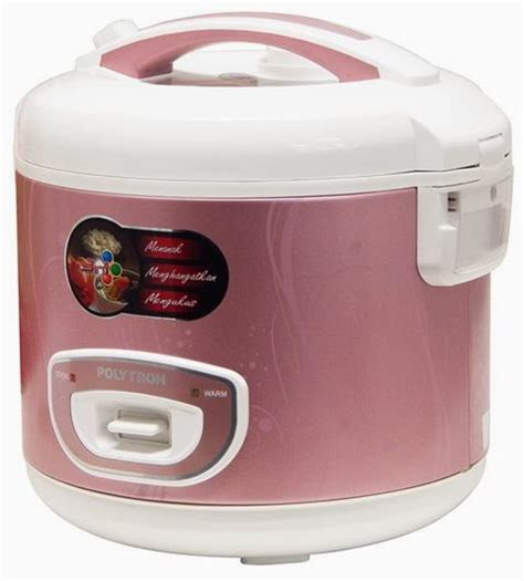 Rice Cooker Di Hartono Elektronik polytron rice cooker violia sagita
