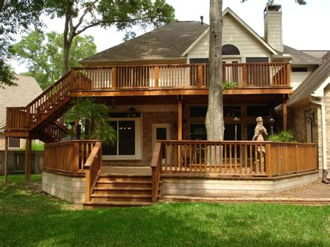 deck house plans two story deck photo housepictures2008028 jpg decks