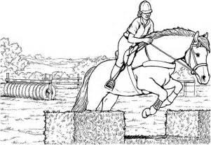 Pferde Ausmalbilder Springen – Kostenlos Bilder Zum  sketch template