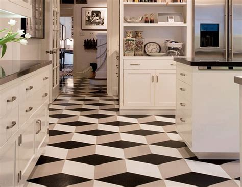 Various Things To Make The Kitchen Floor Ideas Best Kitchen Flooring Ideas