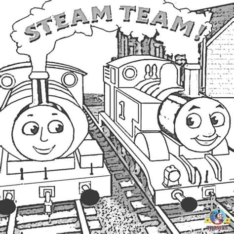 percy and thomas coloring pages free coloring pages for kids