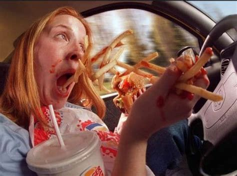 dangers in the act of eating while driving nta ng breaking news nigeria africa worldwide