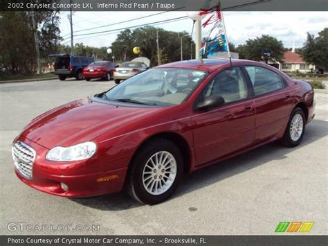 2002 chrysler concorde lxi inferno pearl 2002 chrysler concorde lxi taupe
