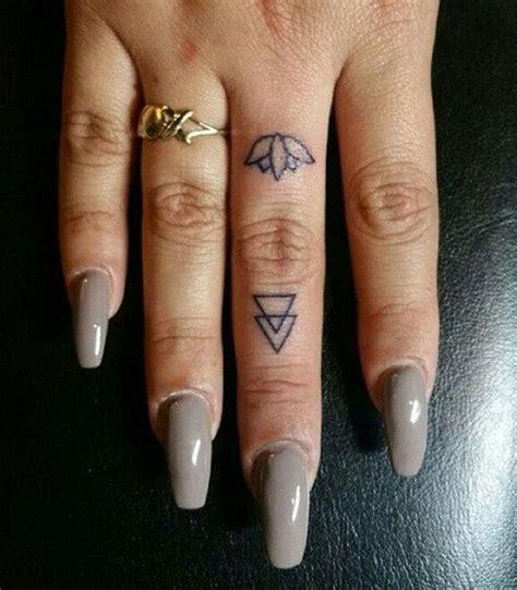 small flower finger tattoos 50 beautiful finger for finger tattoos
