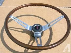 Steering Wheel For Oldsmobile 67 68 Olds 442 Hurst Olds Cutlass F85 Gm Wood