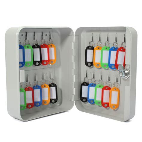 Key Organizer Cabinet by 20 Key Hook Cabinet Storage Wall Mount Organizer Safe