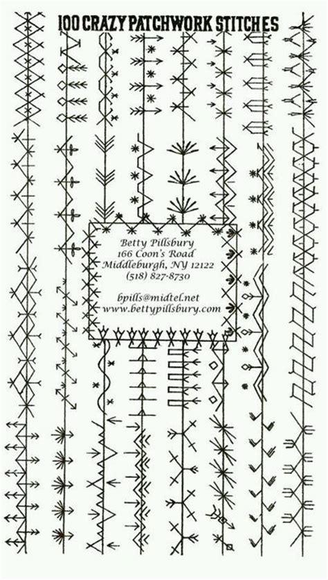 Patchwork Stitches - stitches quilt stitches