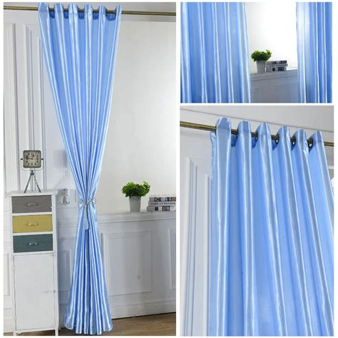 Bright Colorful Kitchen Curtains Inspiration 2pcs 100 250cm Grommet Blackout Curtain Linings Panel Solid Bright Colored Window Curtains Sales