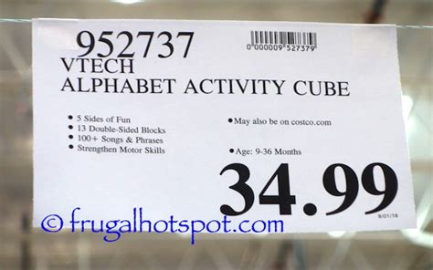 v tech activity costco 2016 christmas toy list prices listed frugal