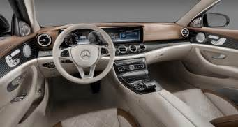 Mercedes With Interior 2017 Mercedes E Class Official Look At