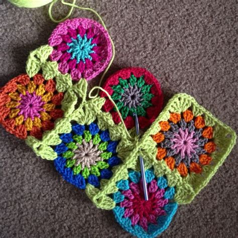 crochet pattern join pattern continuous join as you go granny square afghan