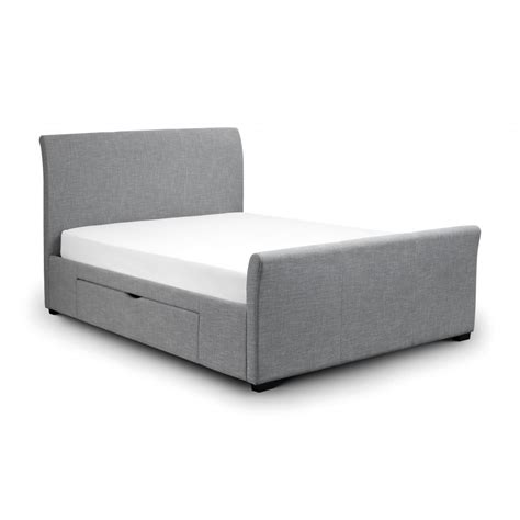 double bed frame with storage capri double bed frame with twin storage drawers the