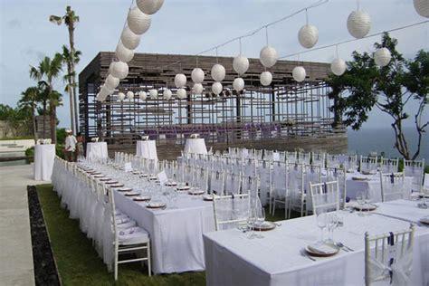Weddingku Alila by Alila Uluwatu Cliff Edge Cabana Wedding And Villa