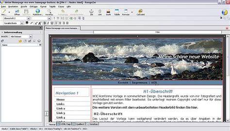 tutorial css kompozer tutorial anpassen der css daten in ihrer homepagevorlage