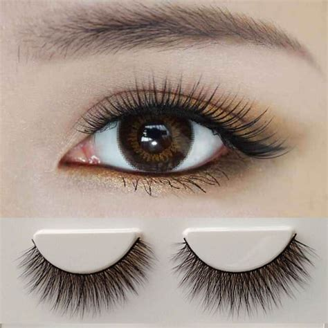 Eyelash Bulu Mata Bawah Eyelash Extension Silk Mink Lash Korea 1 pair 100 mink hair false eyelashes eye lashes