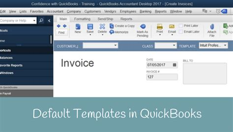 quickbooks default invoice template archives candus kfer
