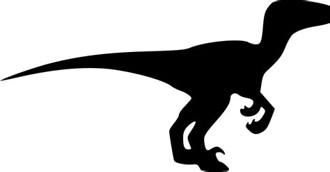 Dinosaur Clipart Black And White For Modern Style Dinosaur