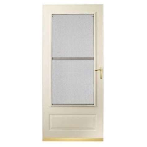 Emco 3000 Series Door by Emco 300 Series Almond Track Colonial Door