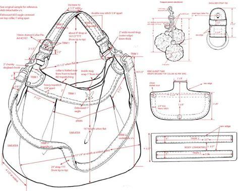 drawing bag pattern pin by sergey paramonov on bags patterns pinterest