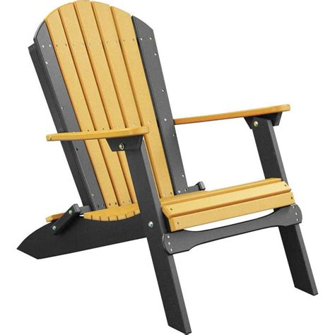 Luxcraft Adirondack Chairs by Luxcraft Recycled Plastic Folding Adirondack Chair In 2019