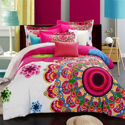 bohemia boho duvet cover set winter comforter cover