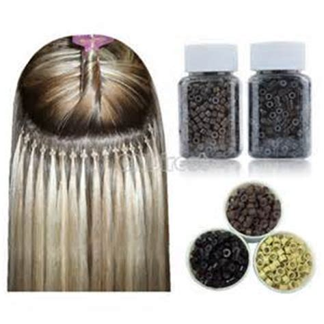silicone bead hair extensions 20000per lot 4 5x2 5x3 0 silicone lined micro rings
