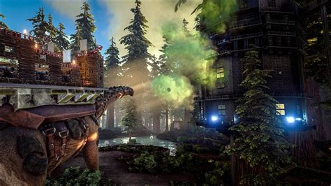 Crafted Russian Redwood Pc by Ark Survival Evolved Adds Titanosaurs Redwoods And