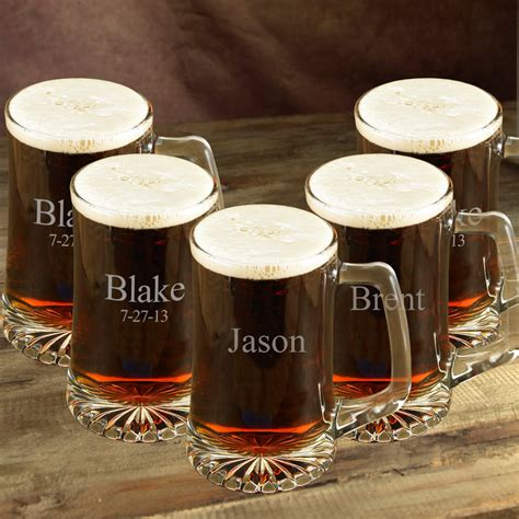 Mug Custom 5 personalized mug set of 5 groomsmen gift engraved