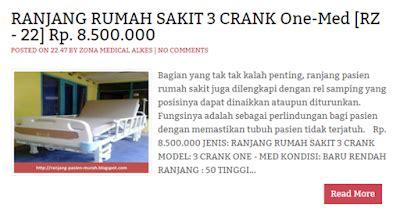 Ranjang Rumah Sakit Murah ranjang rumah sakit 3 engkol 3 crank ranjang pasien murah tempat tidur rumah sakit berkualitas