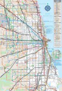Metra Map Chicago by Cta Metra And Pace Maplets