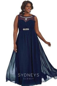 Friendly Formal Dresses - xscape plus size dress three quarter sleeve glitter lace