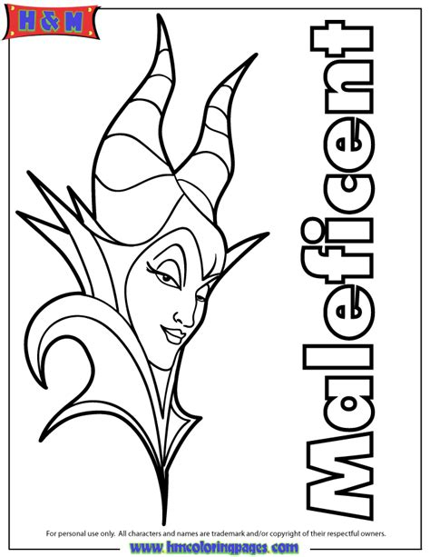 maleficent coloring pages maleficent 2014 coloring page h m coloring pages