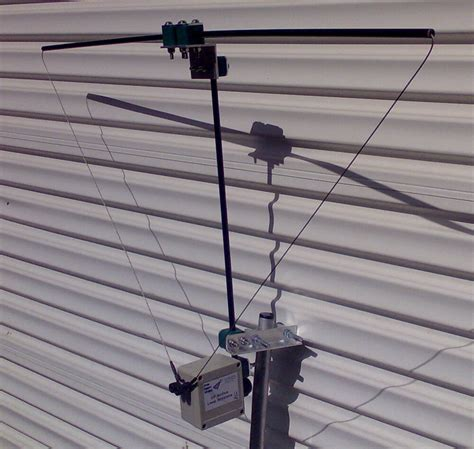 cross country wireless hf active loop antenna ebay
