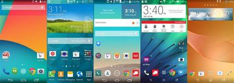 Android Without Gui by Android Skins Compared Which Version Of Android Suits You