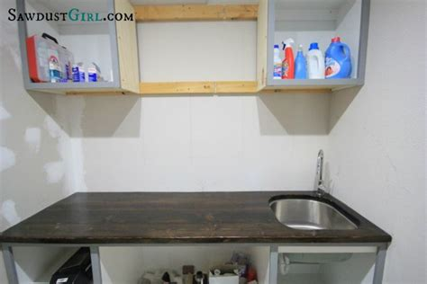 diy wood countertop with undermount sink diy for the