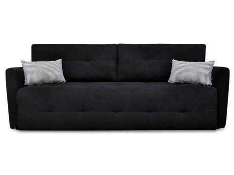 conforama canapé lit clic clac banquette lit clic clac nippon coloris noir 2 conforama