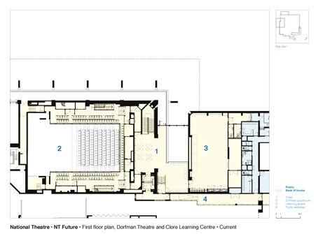 national theatre floor plan gallery of national theatre haworth tompkins 32