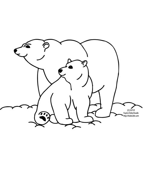 snow bear coloring page polar bear baby gif 2 550 215 3 300 pixels snow arctic