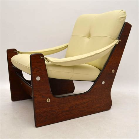 retro leather armchair retro rosewood leather armchair vintage 1960 s interior