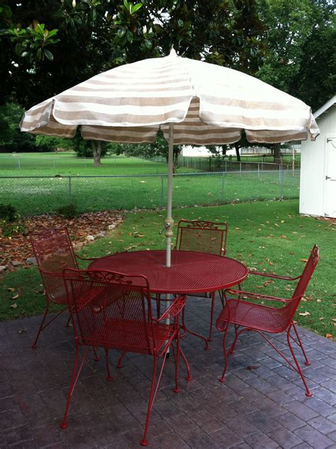 Red Wrought Iron Patio Furniture Cozy Bird Nest Iron Outdoor Patio Furniture