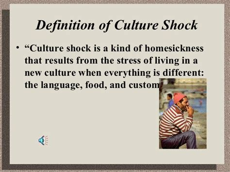 cultural biography definition culture shock