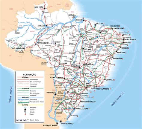 south america dot map maps of brazil map library maps of the world