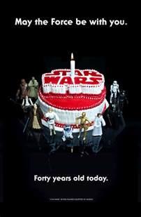 wars anniversary 40 years of star wars anniversary posters starwars com
