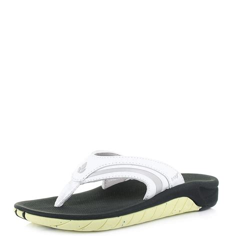 reef comfort flip flops womens reef girls slap 3 white lime comfort flip flops shu
