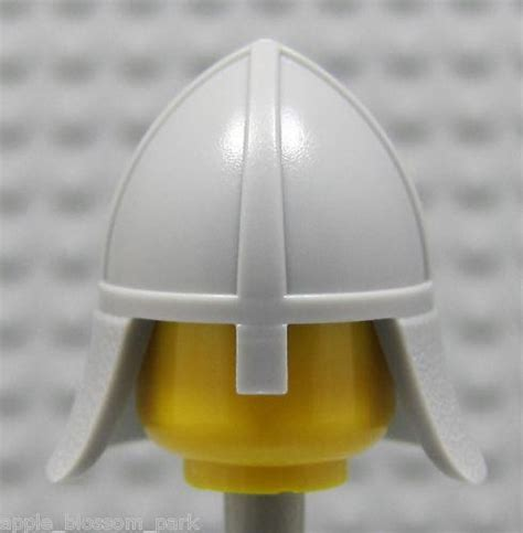 Part Lego Minifigures Headgear Helmet 246 lego headgear helmet with nose guard headgear